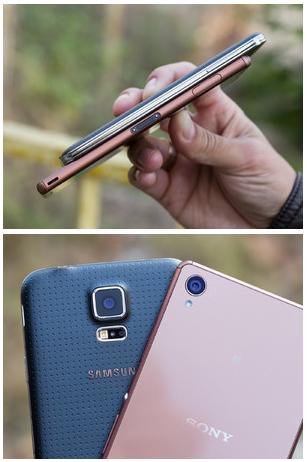 Samsung Galaxy S5 vs Sony Experia Z3