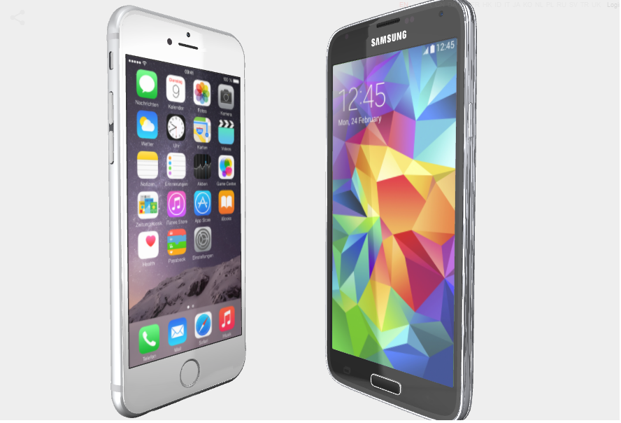 Portada iPhone6 vs S6