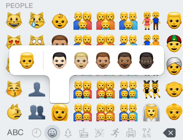 Apple's New Emoji, emoticonos, emojis, Whimed.com