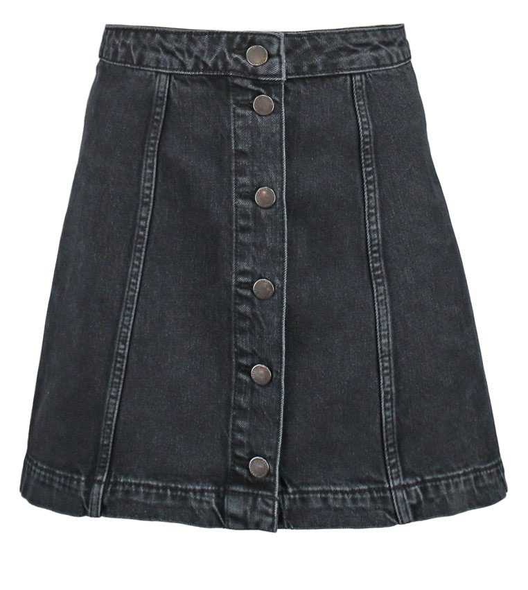 blogsdemoda, bloggerdemoda, fashion, fashionlife, fashionblogs, itgirl, lifestyle, moda, style, streetstyle, spanishblog, tendencias, trends, fashionblog, fashion, katie holmes, taylor swift, anne hathaway, kirsten dunst, celebs wearing skirt, denim skirt, falda vaquera, falda trapecio, los must del verano, top 5 verano, whimed trends, dónde comprar falda con botones, falda con botones, rebajas, rebajas españa, rebajas inditex , topshop