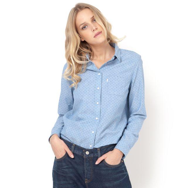 camisa manga larga,mujer, courteney cox