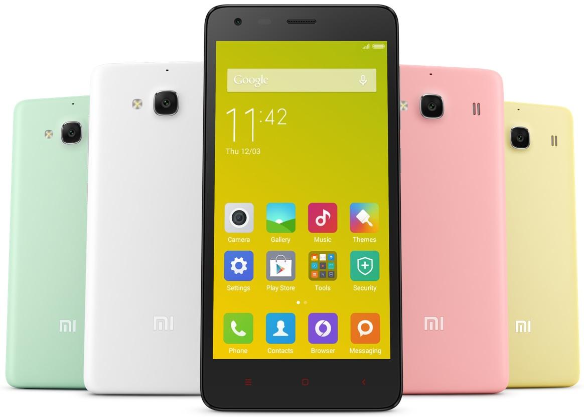 Xiaomi Redmi 2 smartphones chinos baratos huawei meizu xiaomi